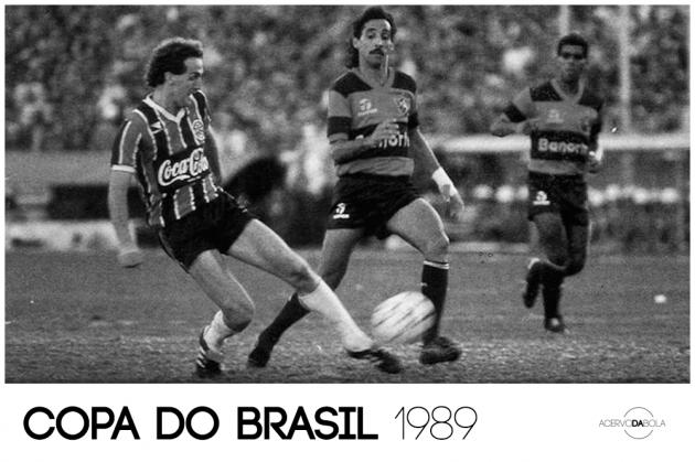 Grêmio campeão da primeira Copa do Brasil (1989)