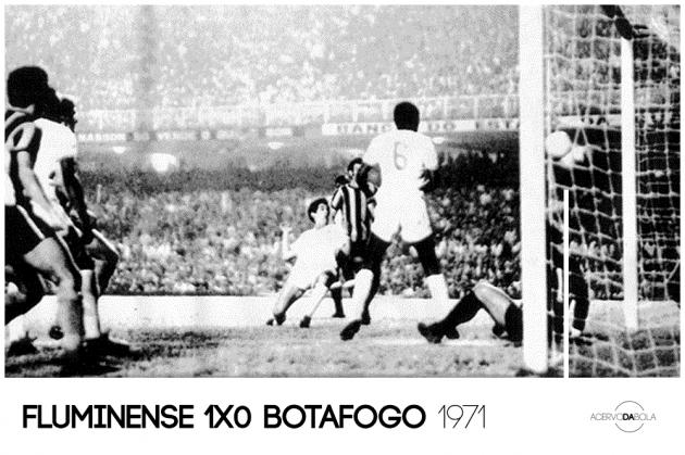 Fluminense 1×0 Botafogo – Rivalidade, polêmica e título tricolor em 1971