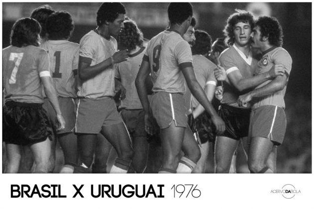 Brasil x Uruguai – Rivellino, Ramirez e muita confusão em 1976