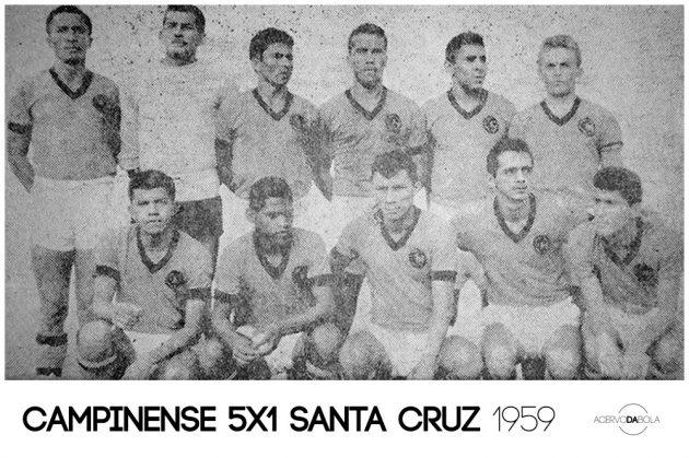 Campinense 5×1 Santa Cruz – A goleada e o adeus ao amadorismo em 1959