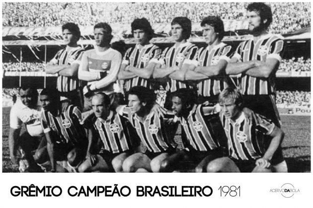 Grêmio campeão brasileiro em 1981