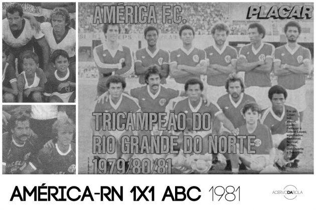 América-RN 1×1 ABC – O gol mais rápido do mundo em 1981?