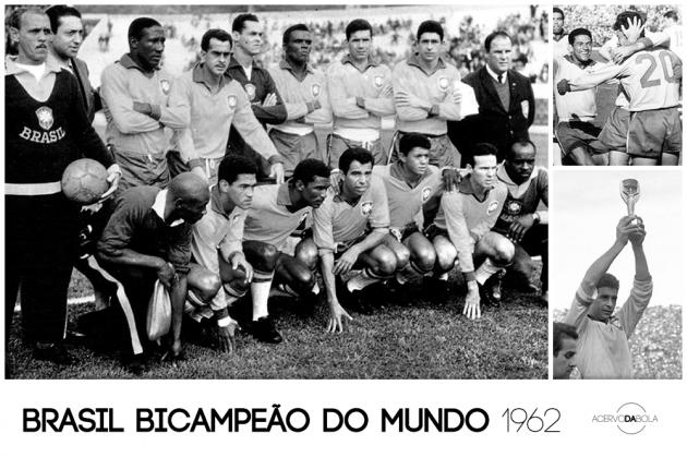 Brasil bicampeão do mundo (1962)