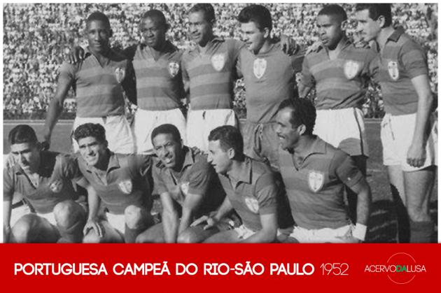 Portuguesa campeã do Rio-São Paulo (1952)