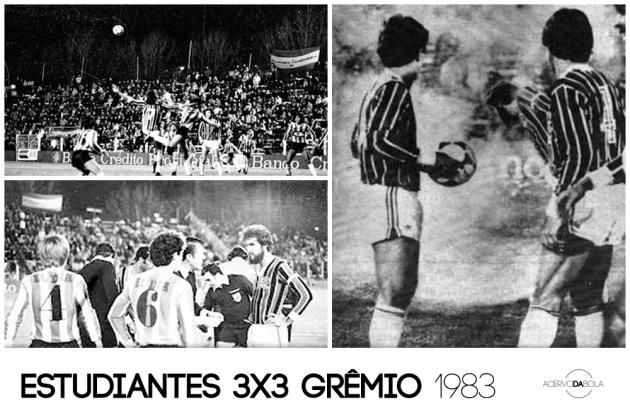 Estudiantes 3×3 Grêmio – O empate da sobrevivência na guerra de La Plata