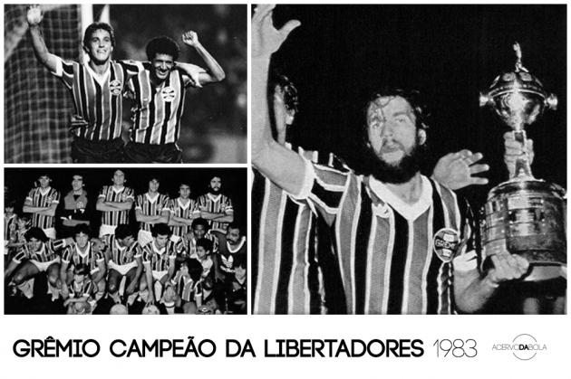 Grêmio campeão da Copa Libertadores (1983)