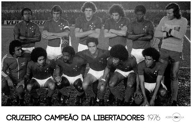 Cruzeiro campeão da Libertadores (1976)