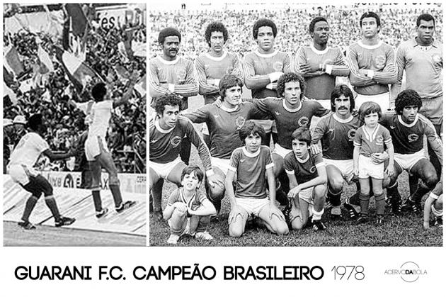 Guarani campeão brasileiro (1978)