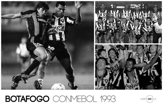 Botafogo campeão da Copa Conmebol (1993)