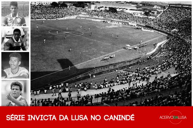 A série invicta da Lusa no Canindé, que durou de Dener a McLaren