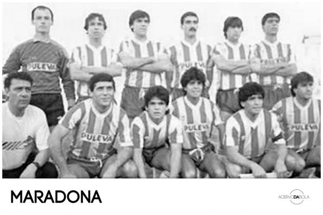 Maradona, um ídolo do… Granada