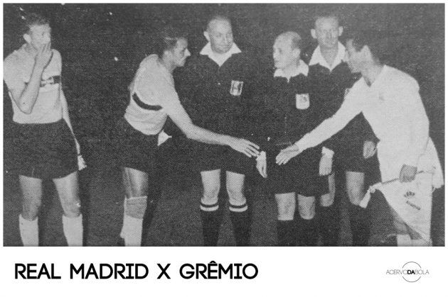 Real Madrid 4×1 Grêmio – Em 1961, o Tricolor enfrentava Puskás e Di Stéfano